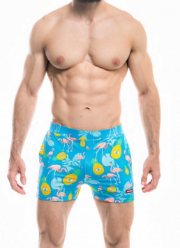 HUNK2-Swim Shorts-Badehose-Flamant-Swim-Shorts-2