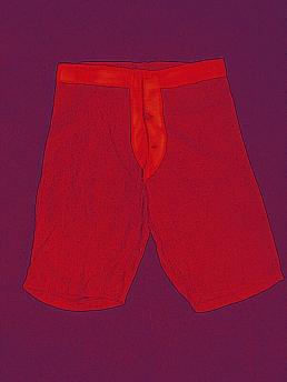 Button Front Military Underwear