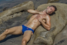 Male Ballet Dancer wears HUNK2 Swimwear