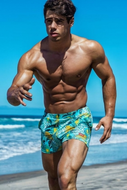 Abs Popping - Men's Swimwear